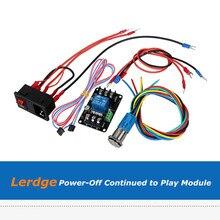 Lerdge x lerdge kボード電源オフ継続に再生レギュレータ電力モニタの拡張モジュール3Dプリンタ部品