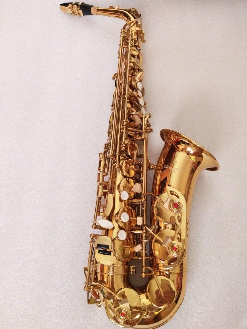 Alto sax High Quality Japanese Yanagizawa A-992 New Saxophone E Flat Alto saxophone Super Professional Musical Instruments Free alto saxophone new eb silver alto sax plated brass musical instruments professional saxophone alto sax e flat