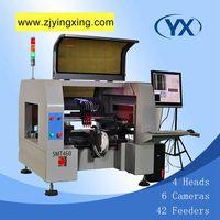 Высокая Технология Палочки место машина SMT460 с конвейера 0201/BGA, светодио дный, SMD T промышленного оборудования
