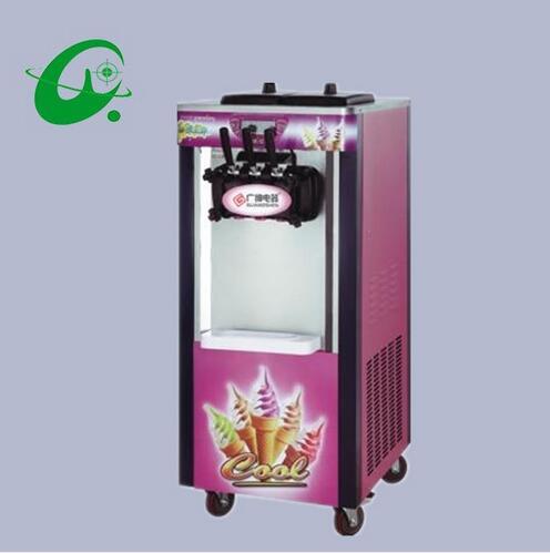 18-20L/H Commercial Soft Serve Ice Cream Making Maker Machine 5.8*2L ice cream machine  недорого