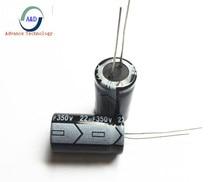 4pcs/lot 350v 22uf  13*20 20% RADIAL aluminum electrolytic capacitor 22000NF