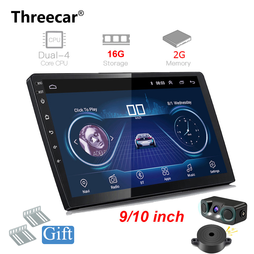Android 8 1 GPS Navigation Autoradio 2 16GB 9 10 INCH Multimedia DVD Player Bluetooth FM