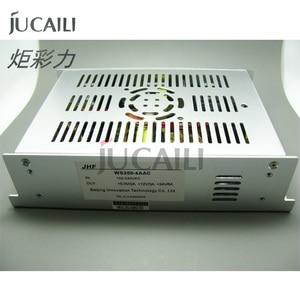 Image 2 - Jucaili JHF מדפסת הזרקת דיו אספקת חשמל JHF WS200 4AAC (5V 2A, 12V 3A, 24 V) עבור allwin gongzheng אינפיניטי החוצה דלת מדפסת