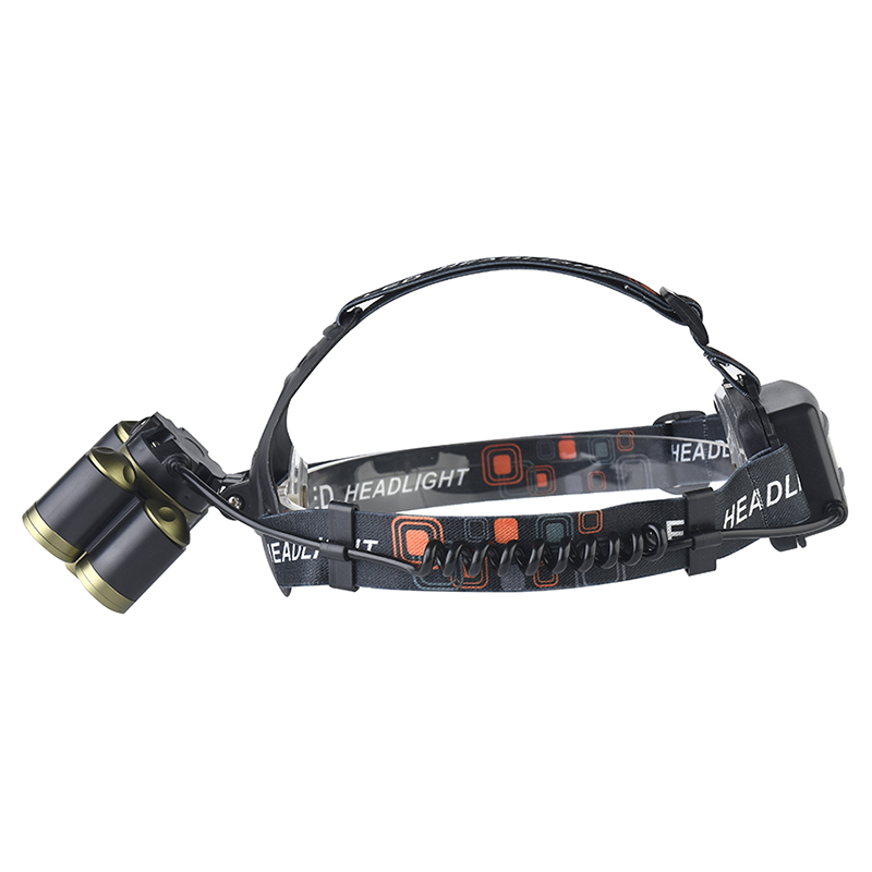Litwod Z20 7/5 LEDs Zoom Headlamp Micro USB Head Lamp Light Torch Fishing Lantern XML-T6 Rechargeable Headlight camping