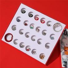 Snowman Christmas Advent Calendar Christmas Countdown Calendar With 24pcs Accessories