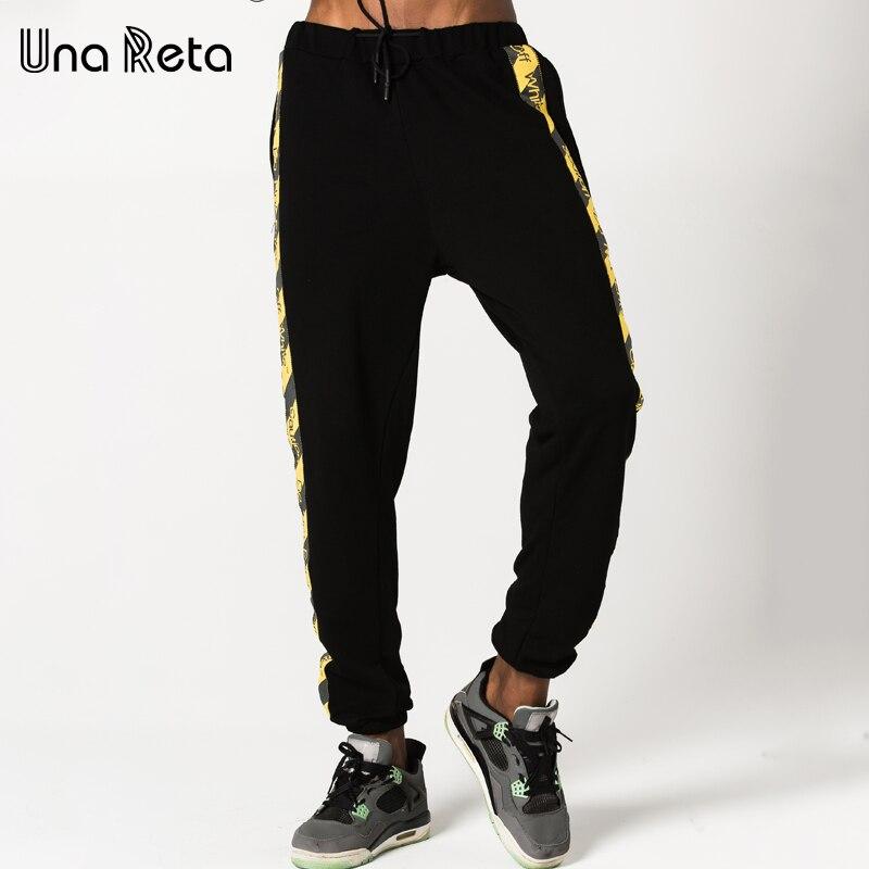 Una Reta 2017 New Streetwear Mens Pants Fashion Casual Pants Men Brand Street Style Hip