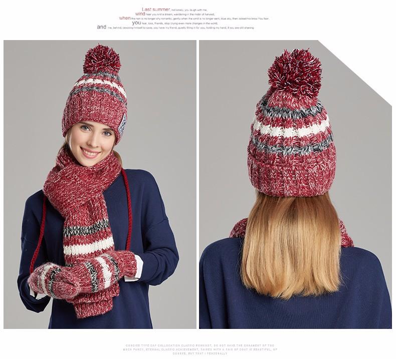 hat scarf glove set (1)