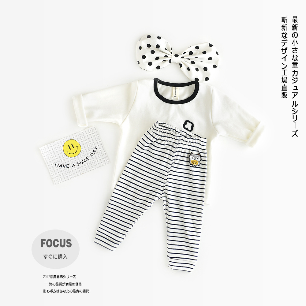 hot sale 2017 unisex baby kids cartoon house printed boys cotton T shirt children infant girl fashion spring white top cloth (9)