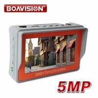 Newest 4 3 Inch 5MP 4MP AHD CCTV Tester Analog CVBS AHD TVI CVI Camera Tester