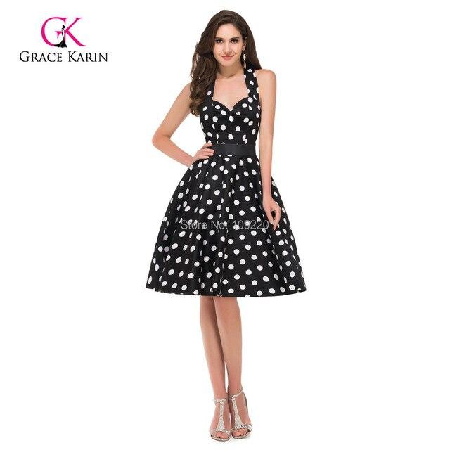 Summer Style Desigual 50s Dress Rockabilly plus size Retro Vintage 1960s  70s Swing Dress Polka Dot Party dress vestidos 4599 f92be8220494