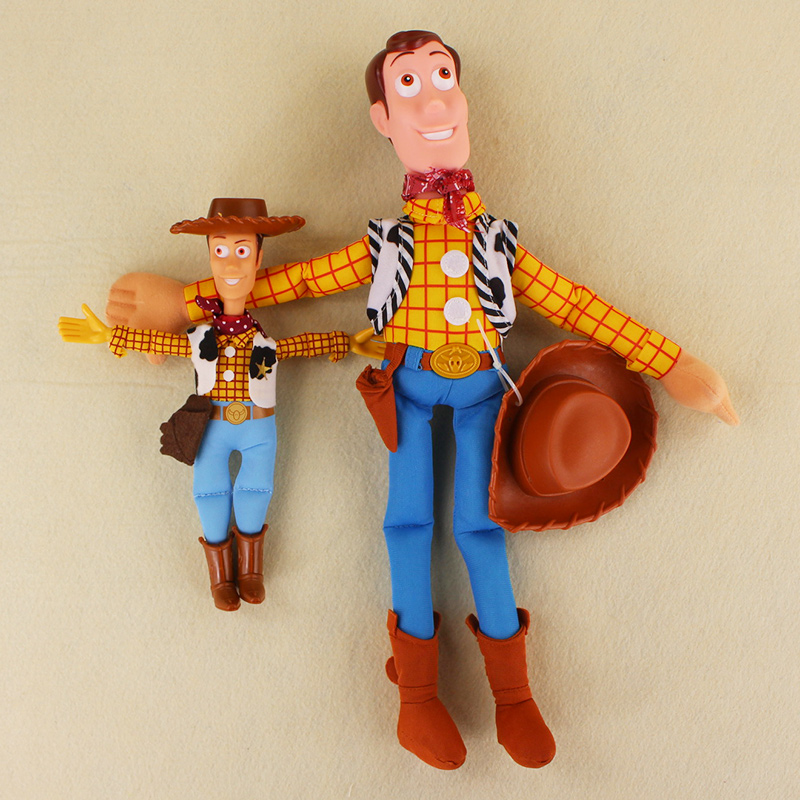 2 styles New Toy Story Woody Buzz Lightyear Cute Stuffed Plush Toy Doll for kids gifts