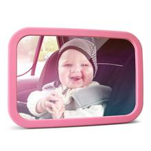 MYSBIKER Baby Backseat Mirror,360°Rotation and Shatterproof,Rear View Kids Car Mirror with Dual Adjustable Straps