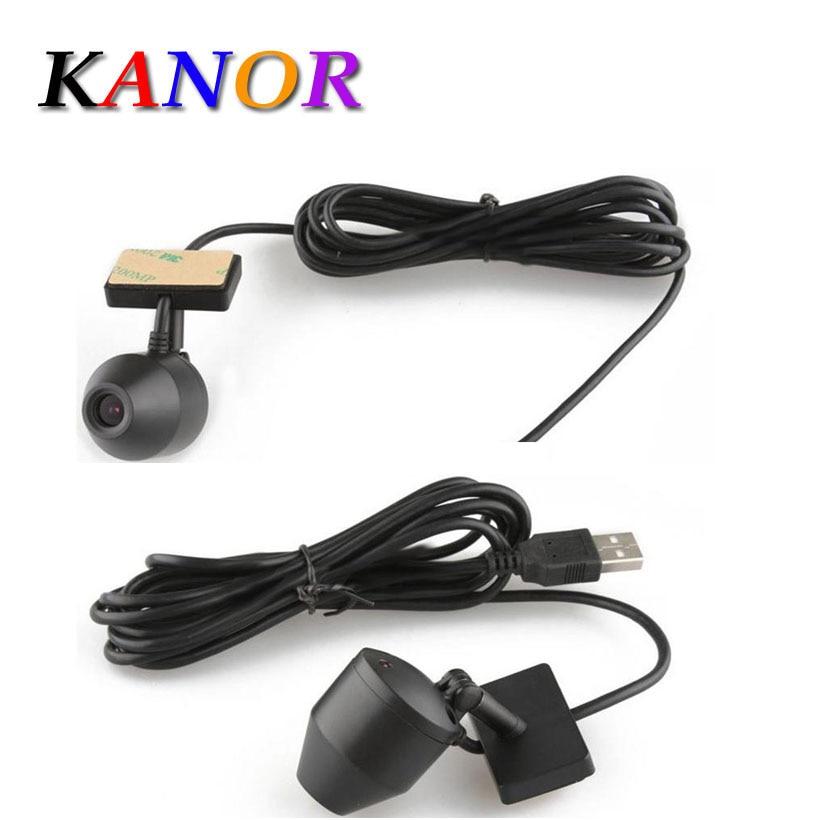 Kanor Android Auto DVD Player USB 2.0 Wasserdicht Vorne Kamera Digital Video Recorder DVR Kamera 720 p HD