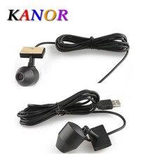 Kanor Android Coches Reproductor de DVD USB 2.0 Frontal Impermeable Cámara Grabadora de Vídeo Digital DVR de La Cámara 720 P HD