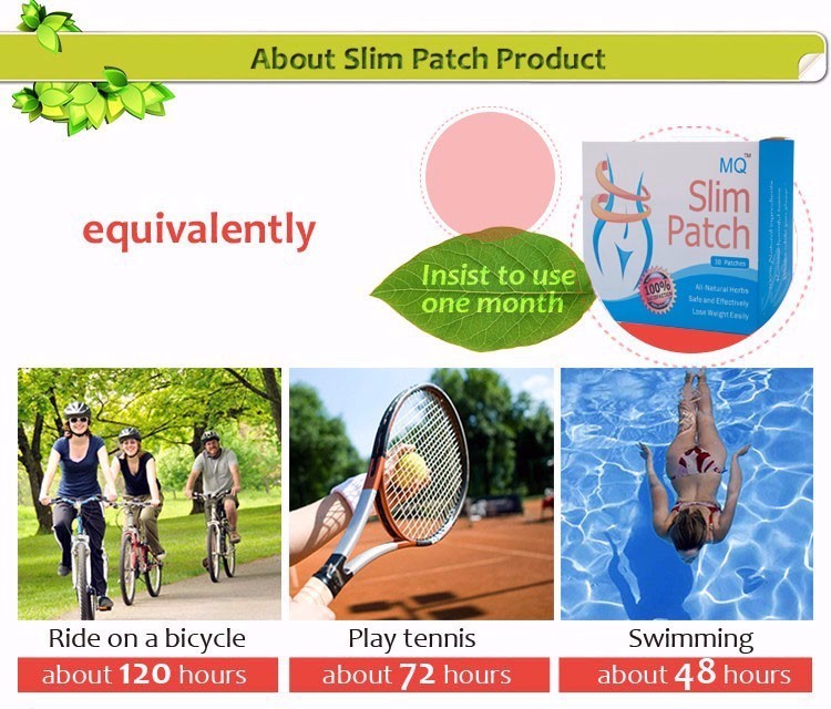 30 Pcs/Box Slim Patch Weight Loss Natural Ingredients Navel Patch For Women Men Fat Burning Slimming Body Wraps Health Products 7