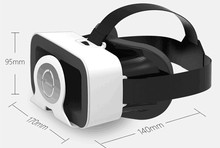 Vr shinecon ABS Leather 8 Cores 2.0GHz CPU all in one glasses vr headset