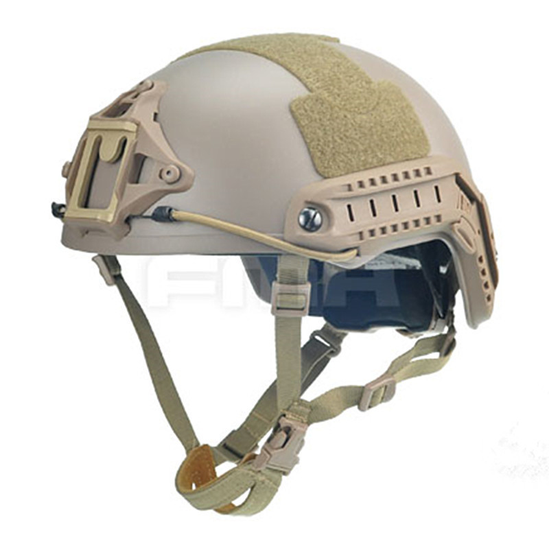 2017 FMA Tactical Skirmish Airsoft Ballistic High Cut XP Helmet MOLLE Gear Military Heating Combat TB960 цена