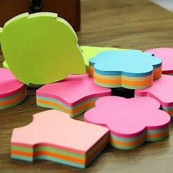 100 páginas multicolorido notas pegajosas bonito amor almofadas de memorando adesivo post it marcador bandeiras planejador pastas material de escritório