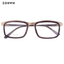 ZOBWN New Arrival Optical Eyeglasses mix samples Men Oculos masculinos Fashion Women Glasses Frame Vintage