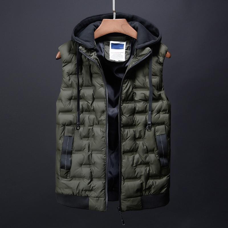 fashion men\`s clothing korean men down jacket coats winter warm vests designer male casual suits dress boys canada vest for men (6)
