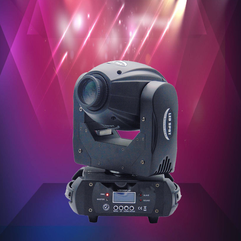 60W LED Moving Head Light 3 Face Prism Spot Light with Rotation Gobos DMX 10/12 Channel Cyclorama DJ Concert Show Stage Lighting|moving head light|led moving head lightstage light - title=