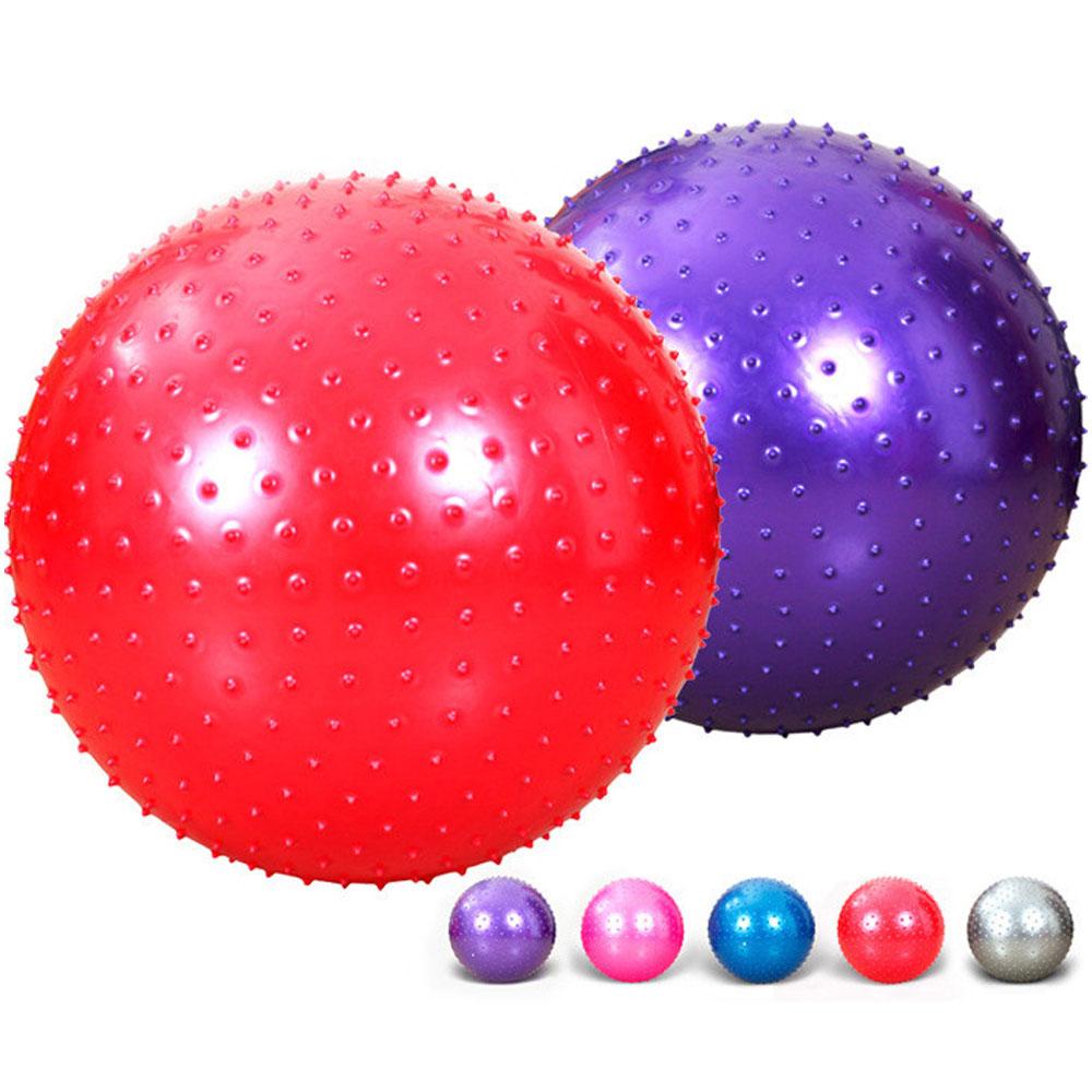1 pièces boule de Massage exercice gymnastique Fitness balle exercice Gym Fitness intérieur entraînement balle