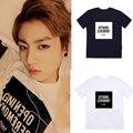 Kpop Bangtan Boys álbum concierto jungkook mismo del cortocircuito del verano Unisex BTS k-pop Camiseta de manga V Oficial Misma camiseta Tops camiseta