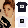 Kpop Bangtan Boys album concert jungkook same Unisex summer short sleeved T-shirt k-pop BTS V Official Same T shirt Tops Tshirt