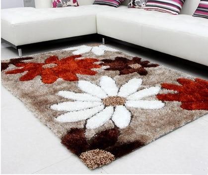 Mesa de centro moderna alfombra alfombra de flores sof for Alfombras y tapetes