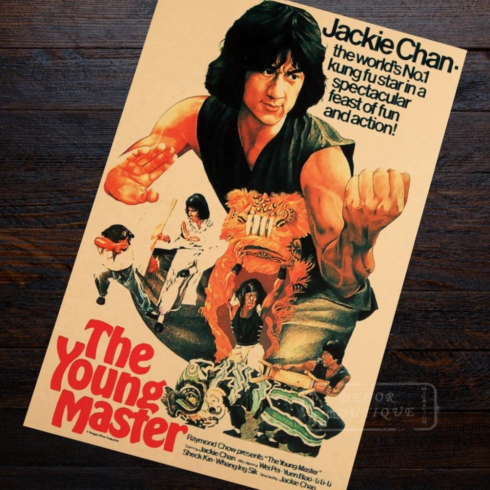 Art print POSTER CANVAS Jackie Chan Art