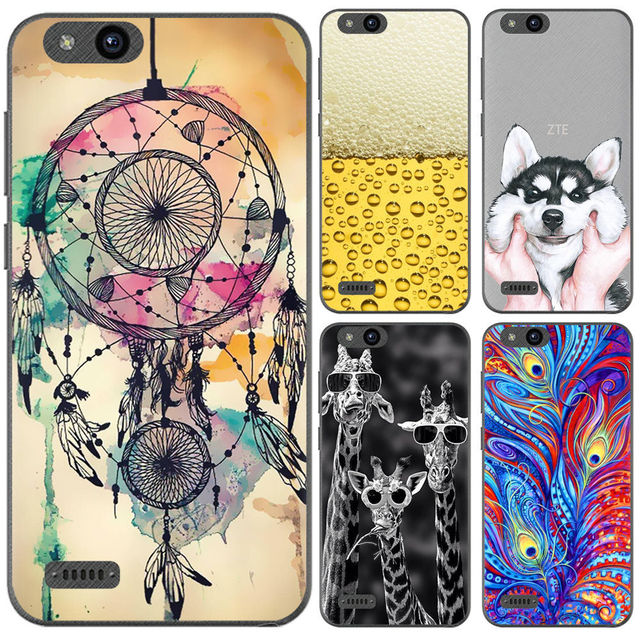 best sneakers 66d53 fa9b0 US $0.99 20% OFF|Phone Case For ZTE Tempo X N9137 5 inch Cute Cartoon High  Quality Painted TPU Soft Case Silicone Cover-in Fitted Cases from ...
