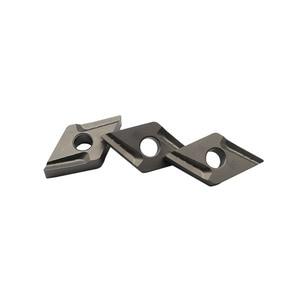 Image 4 - 10 Pcs DNMG150404 R Vf CT3000 Externe Draaigereedschappen Cermet Grade Carbide Insert Draaibank Cutter Tool Tokarnyy Draaien Insert
