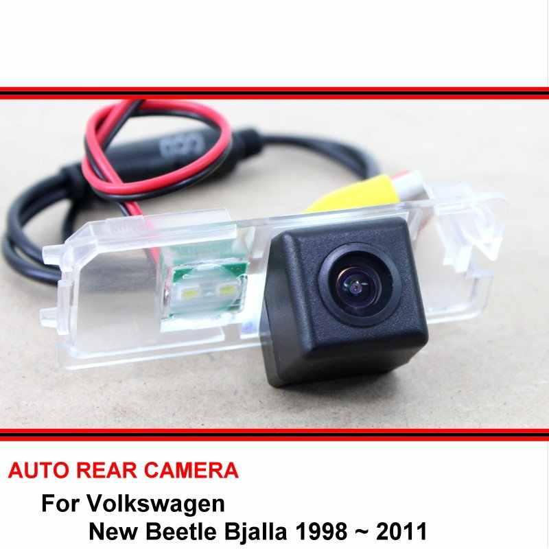 Dla Volkswagen VW New Beetle Bjalla 1998 ~ 2011 HD CCD samochodów rewers Backup lusterko Parking widok z tyłu kamera Night wizja
