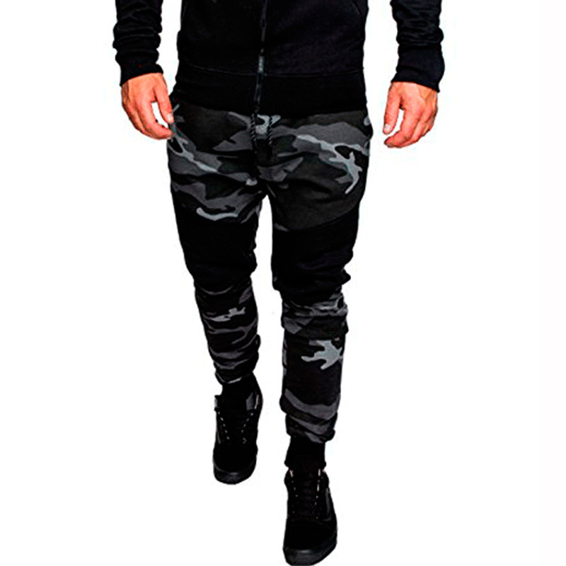 High Quality Joggers Camouflage Gyms Pants Men Fitness Bodybuilding Track Pants Runners Clothing Sweatpants Camo Joggers Autunm