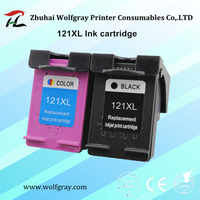 YI LE CAI Compatible 121XL Ink Cartridge 121 for HP Deskjet D2563 F4283 F2483 F2493 F4213 F4275 F4283 F4583 printer for hp121