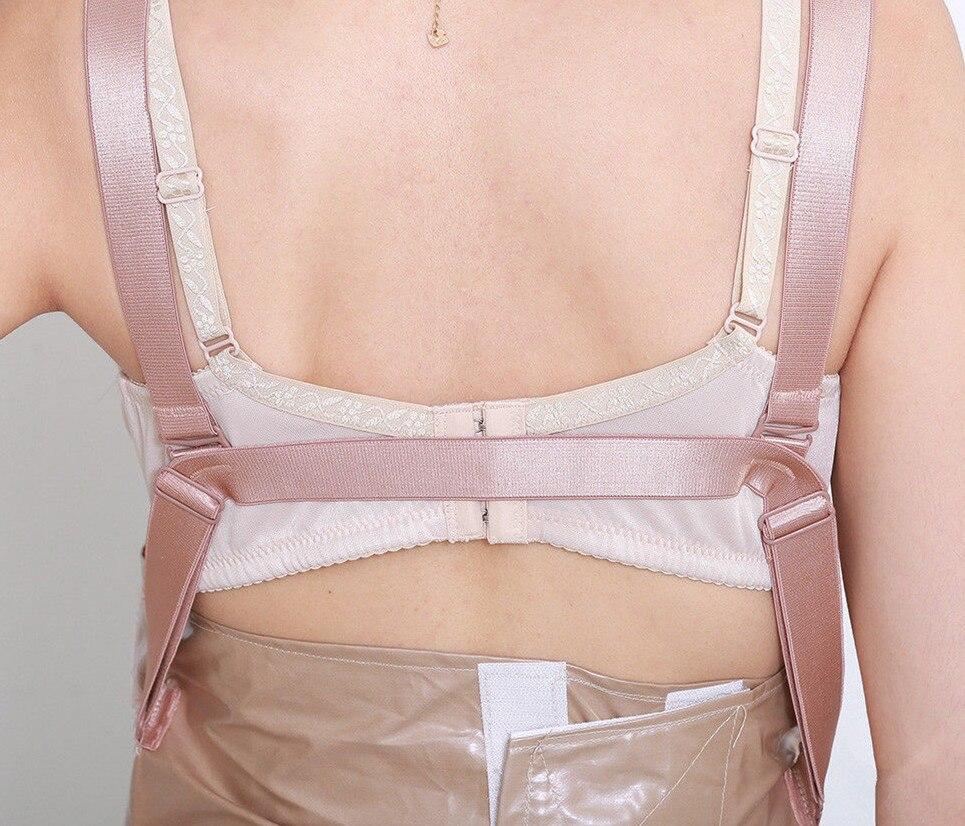 2019 Silicone ventre plus fort sangles ceinture ventre femme enceinte 3 4 mois corps minceur réducteur Body Chaper ventre - 2