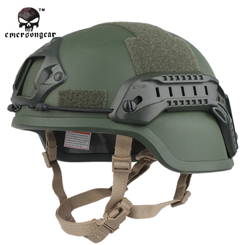 EMERSON ACH MICH 2000 Special Vision Tactical Helmet Airsoft Paintball Emerson Helmet Military Helmet EM8978 8 Colors Options high quality outdoor airframe style helmet airsoft paintball protective abs lightweight with nvg mount tactical military helmet