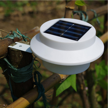 Free shipping 3 led Solar power lamp outdoor led lighting IP65 proof 6V 0.5W high brightness warmwhite/cold white