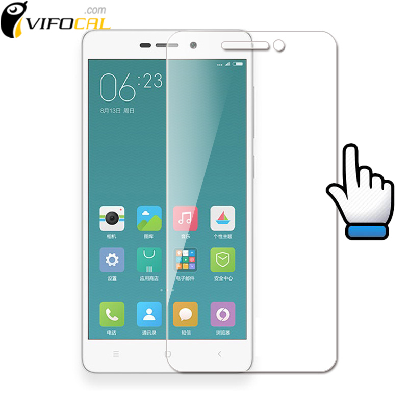 Xiaomi Redmi 3 Tempered Glass 5.0 inch 9H 2.5D Premium Screen Protector Film For xiaomi redmi3 hongmi 3 Pro 3S 3X Cell Phone