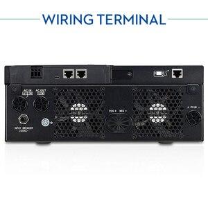Image 3 - EASUN moc USB Bluetooth 5000W falownik 500Vdc wejście PV 230Vac 48V 80A ładowarka słoneczna MPPT wsparcie mobilne monitorowanie sterowanie LCD