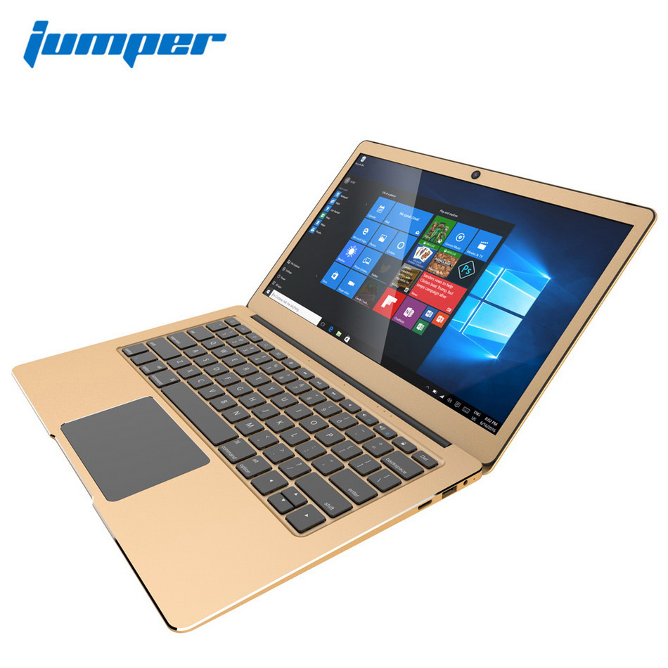 13.3 inch IPS Win10 laptop, Jumper EZbook 3 komputer notebook Pro Intel Apollo Lake J3455 6 GB DDR3 64 G eMMC netbook, AC Wifi 1080 P