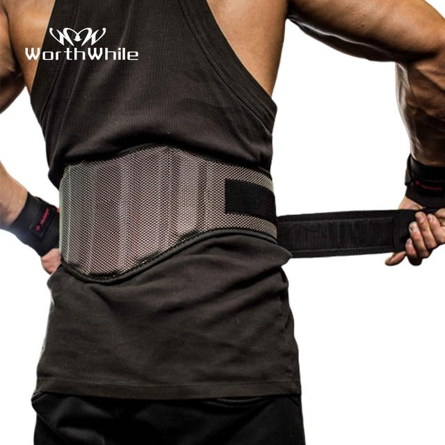 WorthWhile Gym Fitness Waist Belt for Weightlifting Accessories Slim Training Lumbar Brace Protector Bodybuilding Waist Trainer 1