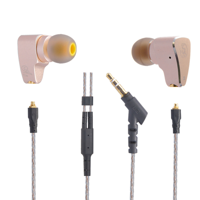 2016 New Original LZ A3 In Ear Earphone Dynamic And 2 BA Hybrid 3 Unit HIFI DIY Earphone With MMCX Interface Cable Kill K3003