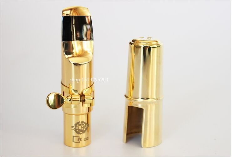 French upgraded version of Selmer S90 metal mouthpiece Saxophone Alto/ tenor / soprano/ Professional mouthpiece Free shipping 8x sliver copper alloy french horn mouthpiece for conn king french horn page 7