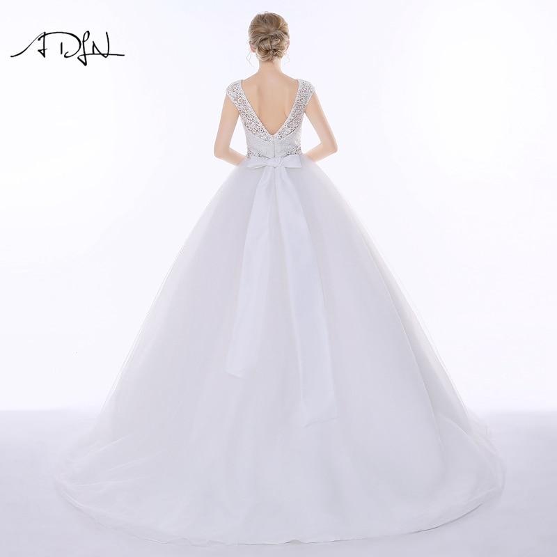Vestido de Novia de Encaje Elegante ADLN Vestido de Noiva A-line - Vestidos de novia - foto 3