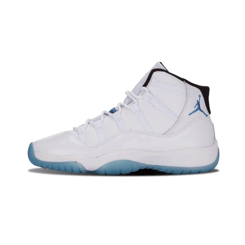 Blanc Jordanie 11 de Basket-Ball Chaussures Légende Bleu Élevés Gagner Comme 82 96 Hommes de Basket-Ball Chaussures High Cut Chaud Hiver Sneaker rouge