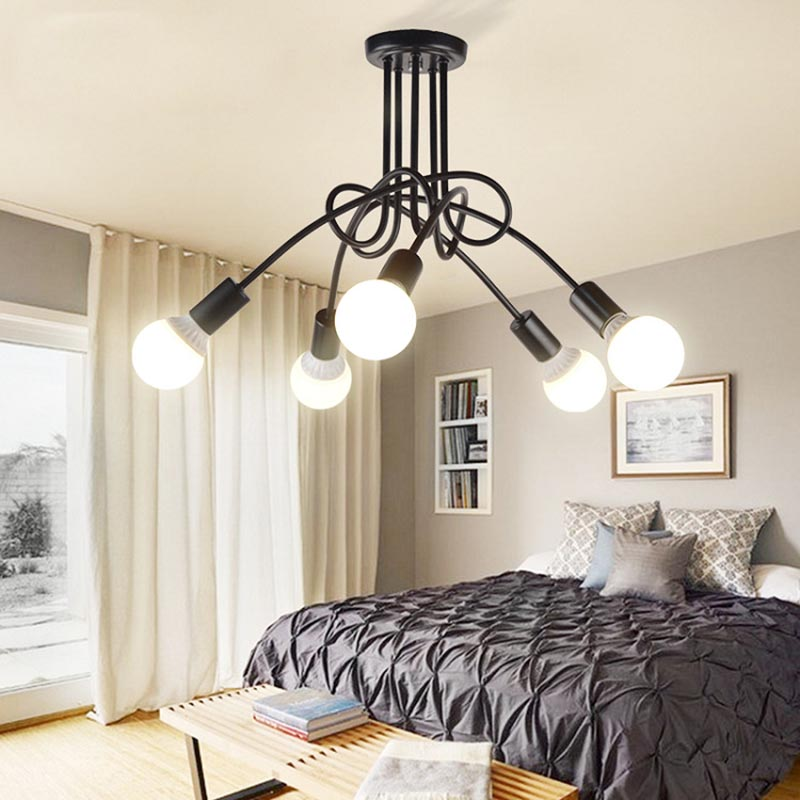 Led Ceiling Lights For The Living Room Luminaria E27 Lamps Fixtures Home Lighting Lamparas