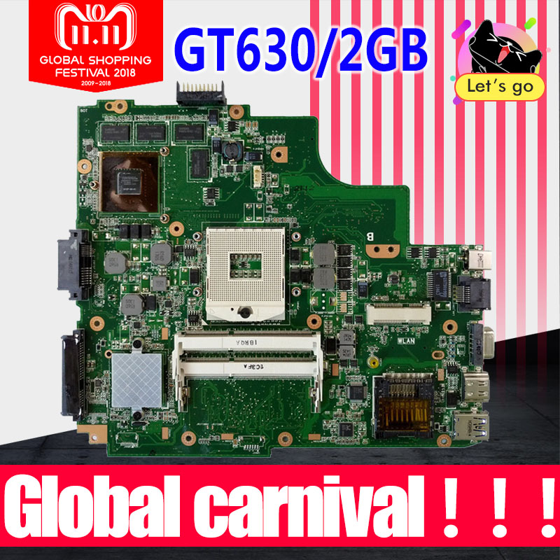 K43SM Motherboard GT630 2G For ASUS A43S X43S K43S K43SV K43SJ laptop Motherboard K43SM Mainboard K43SM Motherboard test 100% ok used for asus k43sv k43s k43sj a43s a84s x43s k43sm laptop motherboard rev 4 1 usb3 0 gt540m 2gb mainboard fully tested