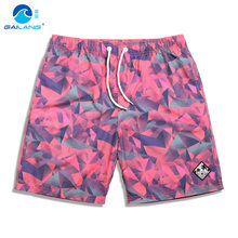 2019 beach mesh shorts swimwear quick dry bathing suit hawaiian joggers breathable briefs surfboard swimsuit praia(China)