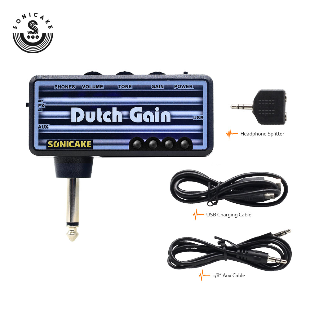 Sonicake Holland Gain Elektrik Gitara Plug qulaqlıq Amp Mini - Musiqi alətləri - Fotoqrafiya 5